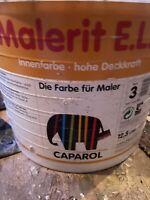12,5 Liter Caparol Malerit ELF Farbton siehe offenes Gebinde Restposten 2