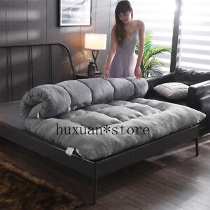 2020 Flannel Mattress Warm Pad Foldable Tatami Pad King Queen Size Bed Mattress