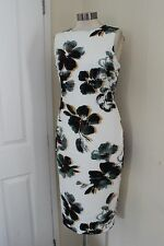 size 8 ivory mix floral dress from marks and spencer brand new stunning