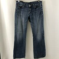 Lucky Brand Women's Olive Zoe Boot Cut Denim Jeans Size 12/31 Inseam 30.5""