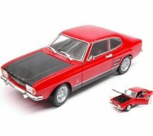 Welly Nex Models 24069RB 1/24 1969 Ford Capri Mk1 in Red/Black Limited Edition