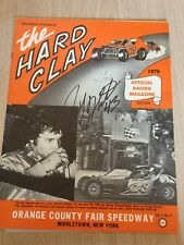 1976 Hard Clay Program Car Racing Orange County Fair Speedway Middletown NY
