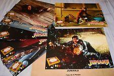 JUMANJI  ! robin williams jeu photos cinema lobby cards fantastique