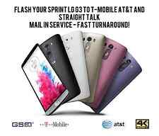 *MAIL IN FAST!* FLASH YOUR LS990 SPRINT LG G3 to LG G4 GSM SOFTWARE! FULL UNLOCK