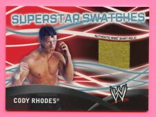 CODY RHODES 2011 TOPPS SUPERSTAR SWATCHES AUTHENTIC WWE SHIRT RELIC WWE CARD