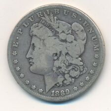 1889-CC MORGAN SILVER DOLLAR-SCARCE CARSON CITY DATE-CIRCULATED-SHIPS FREE INV:1