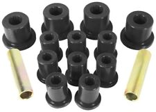 1976-86 Jeep CJ5 CJ7 Rear Leaf Spring Bushing Kit Black Prothane 1-1003-BL