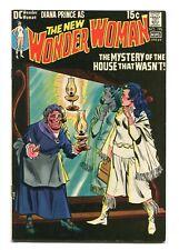 WONDER WOMAN #195 - MYSTERY HOUSE STORY - BEAUTIFUL WALLY WOOD ART - 1971