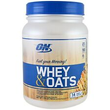 Optimum Nutrition ON WHEY & OATS Protein Powder Gold Standard Oatmeal Mix EX3/20