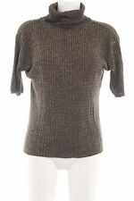 BIBA Rollkragenshirt braun Casual-Look Damen Gr. DE 34 Shirt Turtleneck Shirt