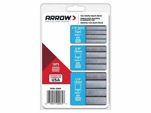 Arrow T50 Staples Multi Pack 6mm10mm & 12mm Box 1875 (3 x 625)