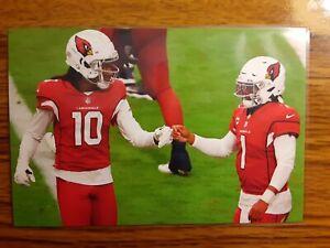 Deandre Hopkins Kyler Murray Cardinals Football 4x6 Game Photo Picture Card