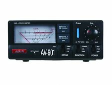 Avair av601 VSWR + Misuratore di potenza 1.8mhz a 525mhz VHF UHF Ham Radio amatoriale