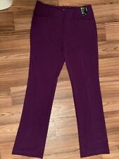 WOMENS NEW YORK & COMPANY 7TH AVENUE DESIGN STUDIO PANTS- SIZE 4 Barely Bootcut