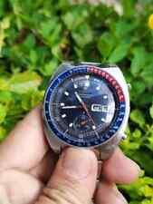 Vintage Seiko Pogue Pepsi 6139-6002 Dial:Blue