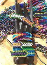 Woven Silk Friendship Bracelets Wholesale Lot 12 Pattern Knotted Wristband