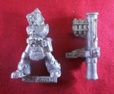 Warhammer 40k citadel metal 1992 SPACE WOLF LONG FANG w. MISSILE LAUNCHER