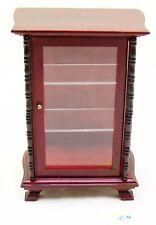 #C4 Puppenhaus Puppenstube 1:12 Wohnzimmer Vitrine, T4,8xB8,5xH13,3cm, sehr gut