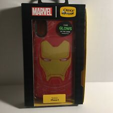 Marvel Iron Man Glow in the Dark Otterbox iPhone X Protective Case