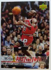 2006 06 Upper Deck The Finals Michael Jordan Past and Future #MJ-23 Insert Bulls