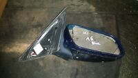 AUDI A6 C5 4B 97-04 O/S OFFSIDE DRIVERS SIDE WING MIRROR BLUE LY5K 4B2858532