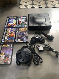 Sega Saturn Console Plus Games Pal