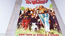 ASTERIX et obelix contre cesar ! affiche cinema animation , bd dessin preventive