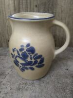 "Pfaltzgraff 6.5"" Pitcher Folk Art Pattern EXCELLENT Condition"