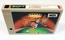 SONY Hit Bit MSX Game Cartridge COMPUTER BILLIARDS HBS-G008C Konami 1983