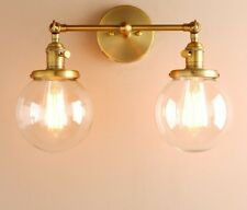Loft Wall Lights Wall Lamp Sconce Double Ball Heads Bedside Lighting Fixtures