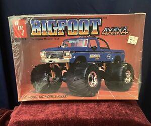 VINTAGE 1984 ATM BIGFOOT Monster Truck 4x4 Ford SEALED #6791-1/25 ERTL Model Kit