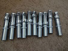 10 Rod Building Wrapping Vintage Chrome over Brass size 18 reel seats