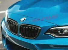 BMW 2 Series F22 F23 F87 M2 Carbon Fibre Grilles - Gloss Black + Carbon Fibre