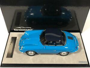 TECNOMODEL MYTHOS TM18-143C Porsche 356 Karmann Hardtop Bleu 1961 1/18 Voiture