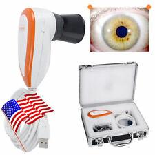 5.0 MP Iriscope Iris Analyzer Iridology Camera Pupilometer USB+Software USA SHIP