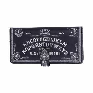 Spirit Board Embossed Purse Ouija Wallet Black & White by Nemesis Now