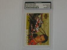 DAN WHELDON Signed INDY 500 IRL CARD Autograph PSA/DNA PSA AUTO RARE 83395313