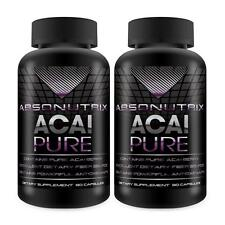 2 Absonutrix Acai Pure 4:11200 mg Extract 90 caps weight loss antioxidant slim