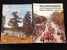 HOLIDAY BROCHURE TRAVEL CAMP GROUND ACCOMADATION CANADA 1980-81