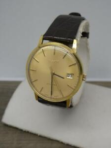 Vintage Men's 1970's Tissot Stylist Calibre 282-1 Date Gold/P Manual Wind Watch