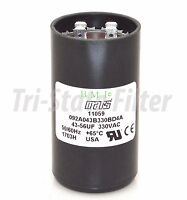 Motor Start Capacitor 43-56 MFD  330 VAC MARS 11059