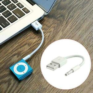 USB Charger Data sync cable lead For 3rd  4th  5th  Gen  iPod  shuffle