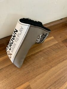 """Titlleist Scotty Cameron Crown Putter Cover"""" & Made To Play """" Head Cover Mint"""
