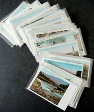 Lot of 92 Us Eastern State Views Copper Windows Style Postcards 1900s