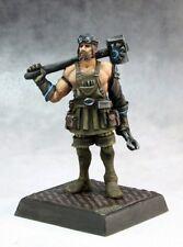 Ardoc Brotherhood Pathfinder Reaper Miniatures Steampunk Blacksmith Melee Hammer