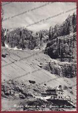 TRENTO RIFUGIO SILVIO AGOSTINI 01 SAN LORENZO IN BANALE Cartolina FOTOGRAF. 1957