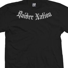 Custom Raider Nation Addict T-Shirt Las Vegas Personalized Name & Number on Back