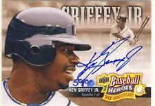 Ken Griffey Jr. 2010 UD 20th Anniv. Art Autograph 59/90