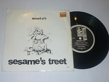 SMART E'S - Sesame's Treet - 1992 UK 2-track Vinyl single With Picture Sleeve