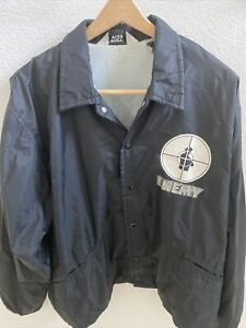 Vintage PUBLIC ENEMY JACKET L LOGO On Chest And Back EXTREMELY RARE!!!!